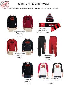 spirit wear flyer UPDATED OCT 3 2017